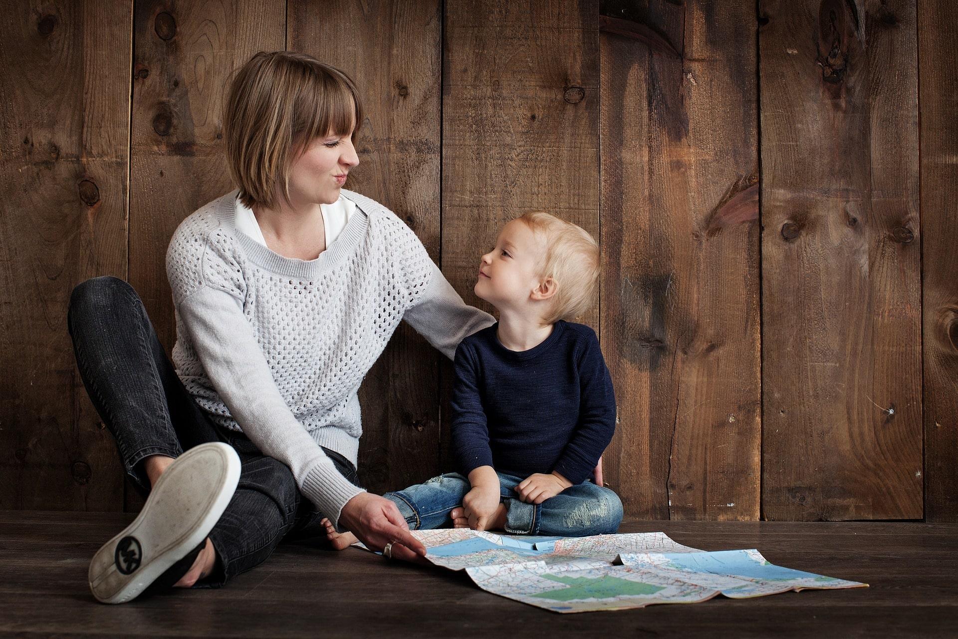 Мамочка и дитя