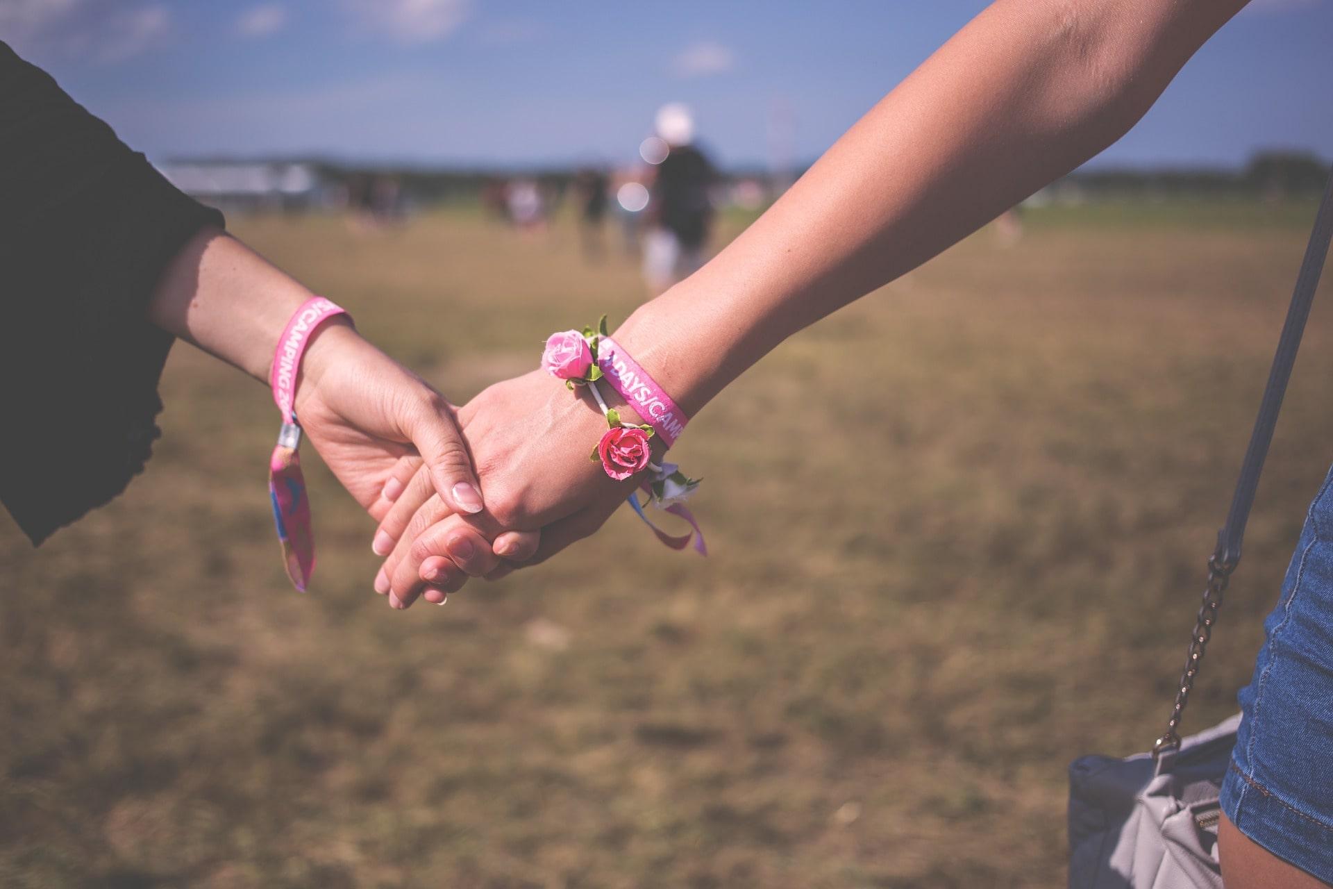 Близкая дружба девушек